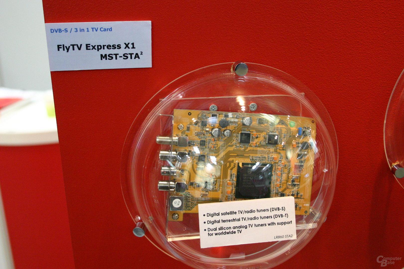 FlyTV Express X1 MST-STA² (DVB-T, DVB-S, Analog)