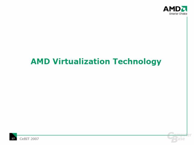 AMD Virtualisierung (Pacifica) gegen Intel VT-d (Vanderpool)