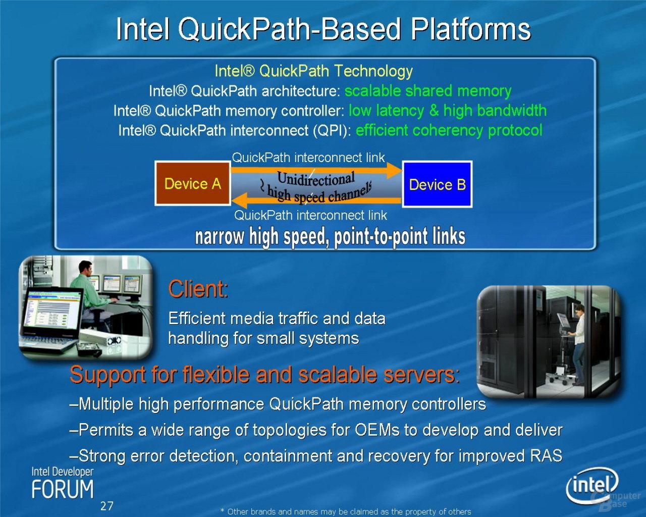 Intel QuickPath-basierte Plattform – ehemals CSI