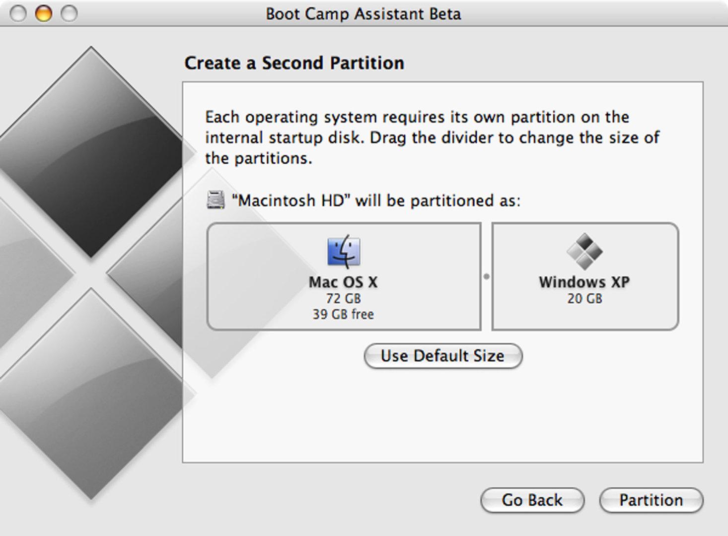 Bootcamp erlaubt den Einsatz von Windows auf Apple-Systemen mit Intel-Prozessor