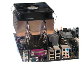 Montage per Push-Pin auf Intel Sockel 775