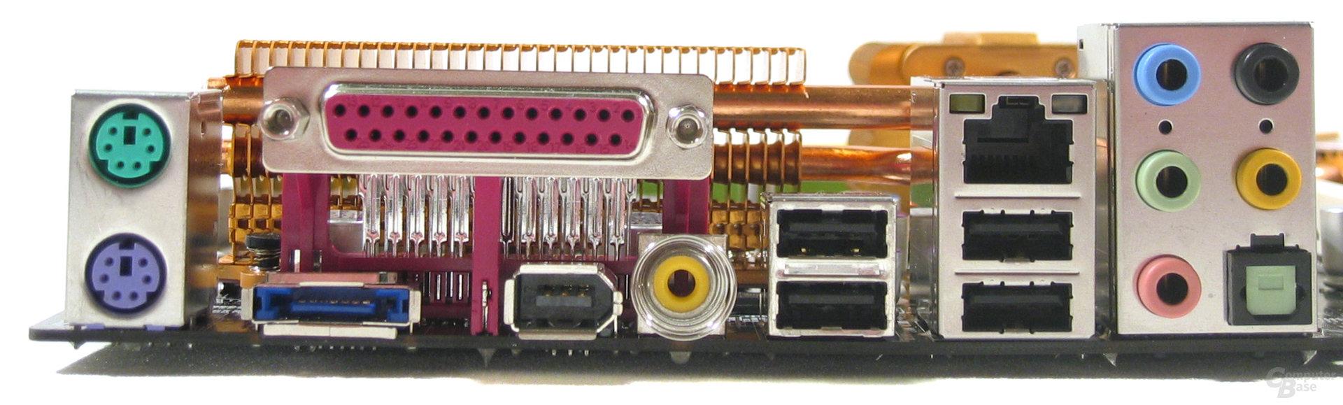 MSI P6N SLI Platinum ATX-Blende