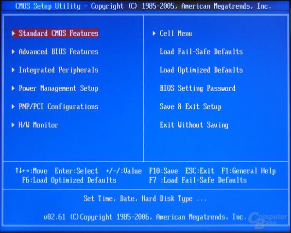 MSI P6N SLI Platinum BIOS