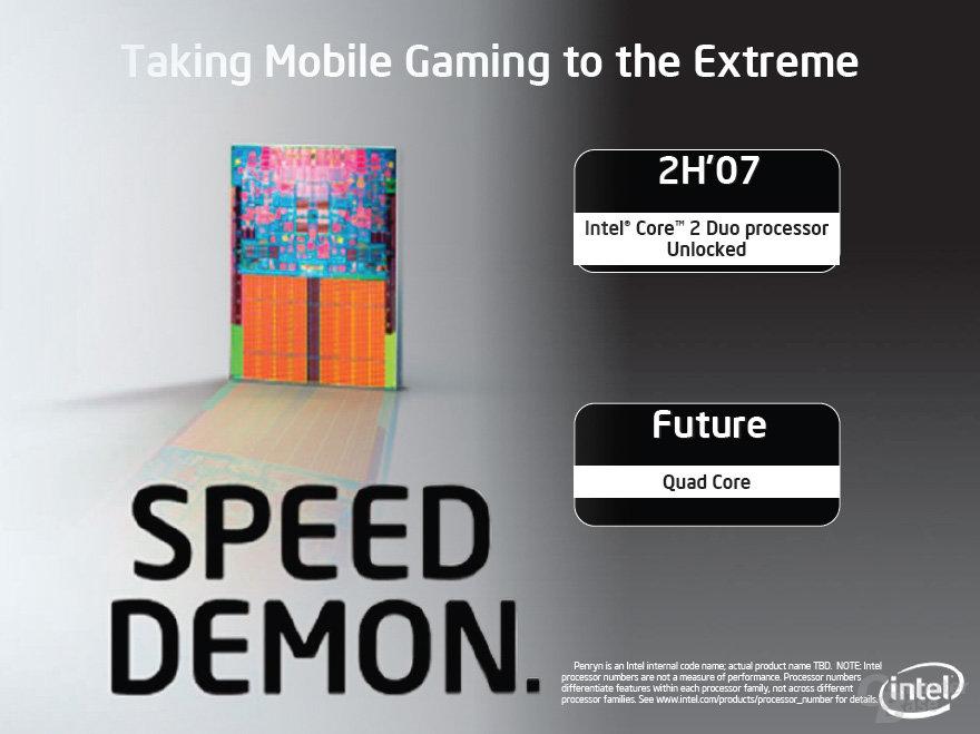 Intel Core 2 Extreme Mobile und Quad-Core-Prozessoren