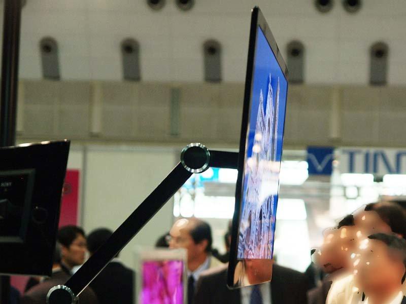 """OLED-Display mit 27"""" von Sony"""