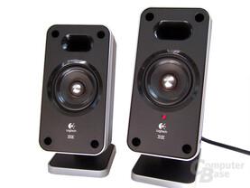 Vergleich der Front- und Rear-Speaker