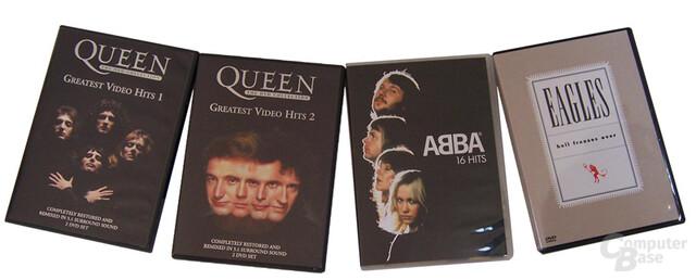 Audio DVDs