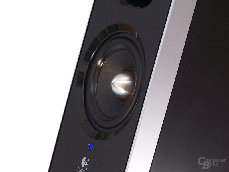 2-Wege-Lautsprecher Seitenansicht