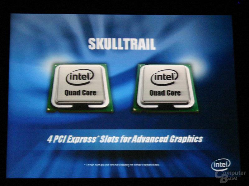 Intel Skulltrail Highend-Chipset