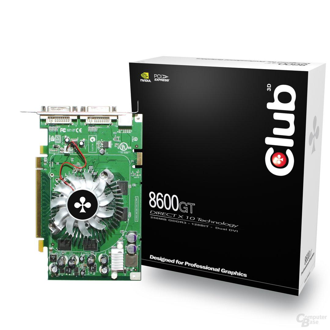 Club3D GeForce 8600 GT