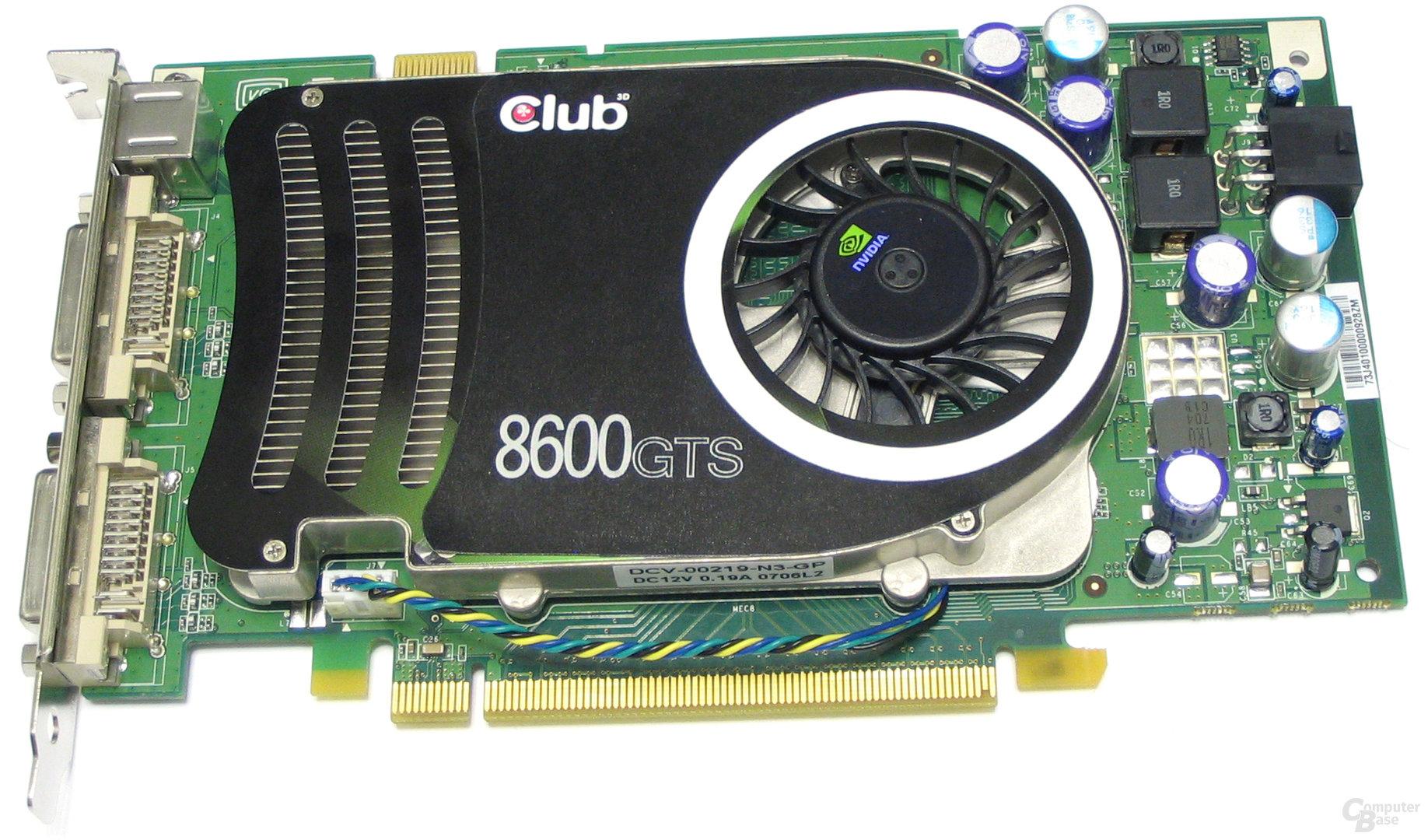 Club3D GeForce 8600 GTS