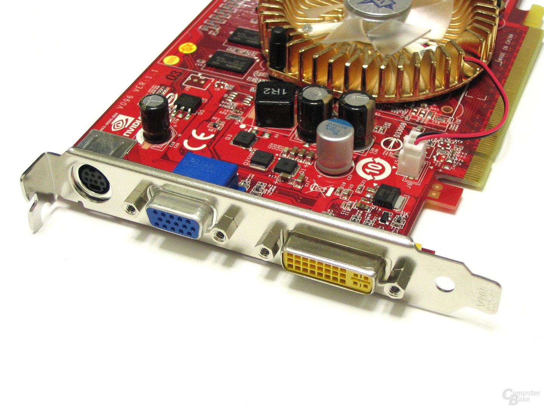 MSI GeForce 8500 GT Slotblech