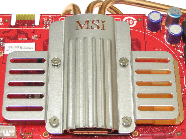 MSI GeForce 8600 GTS Logo