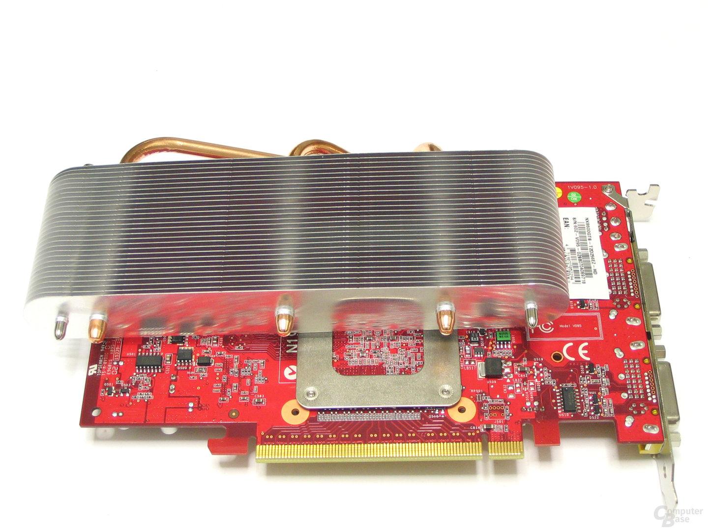 MSI GeForce 8600 GTS Rueckseite