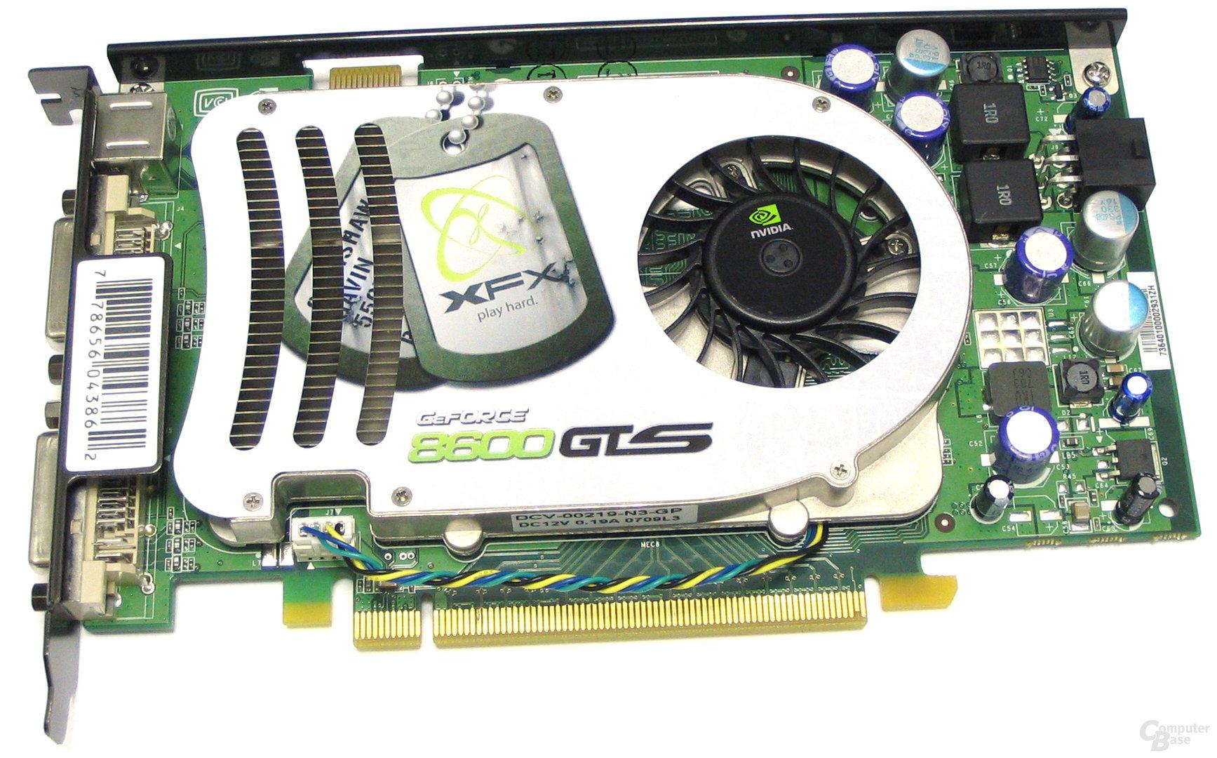 XFX GeForce 8600 GTS
