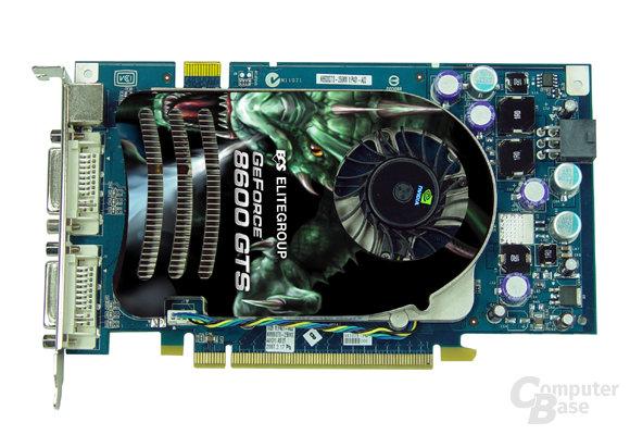 ECS GeForce N8600GTS
