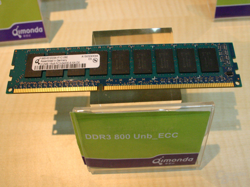 Qimonda DDR3-800
