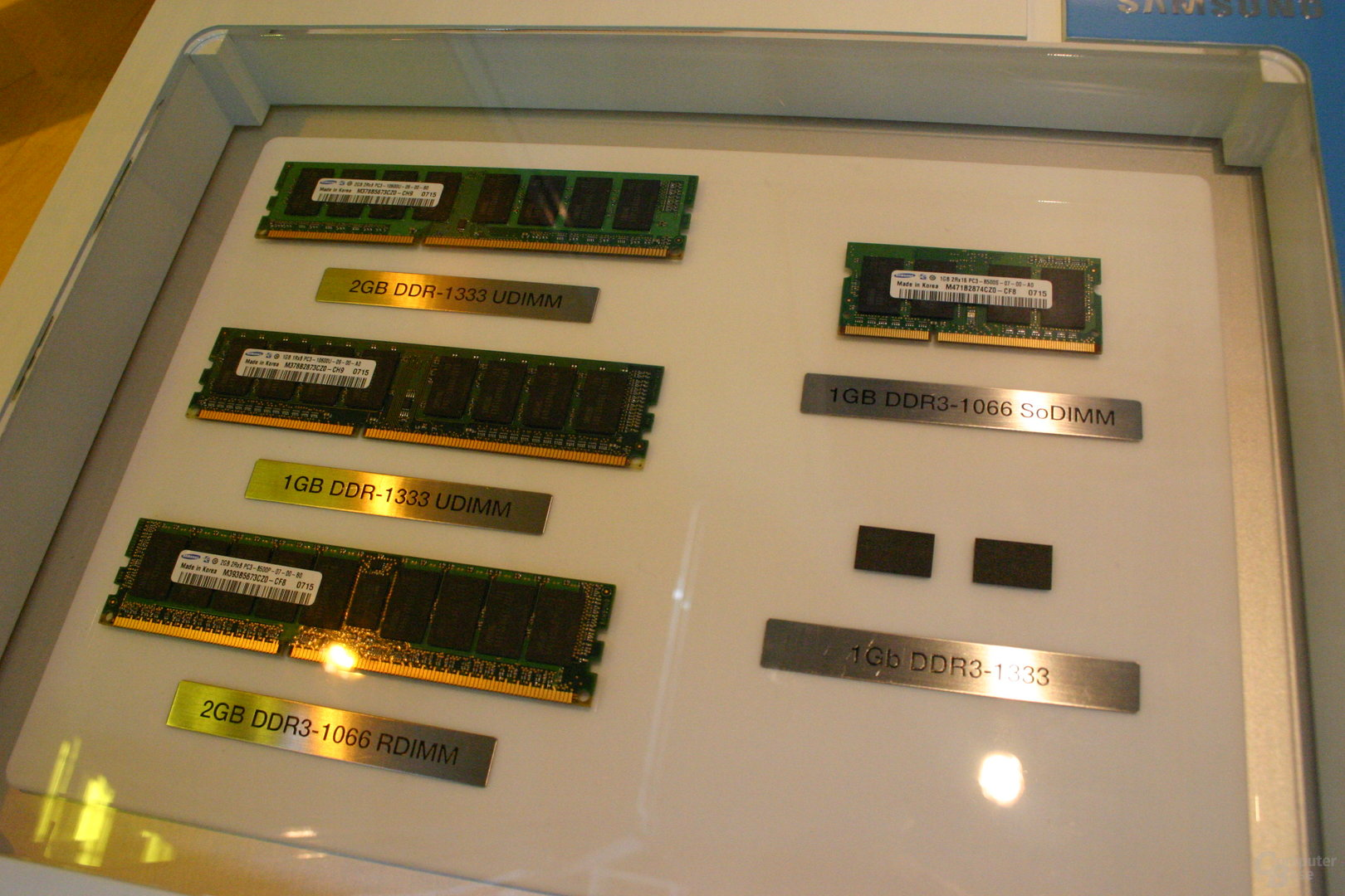 Samsungs DDR3-Produktpalette