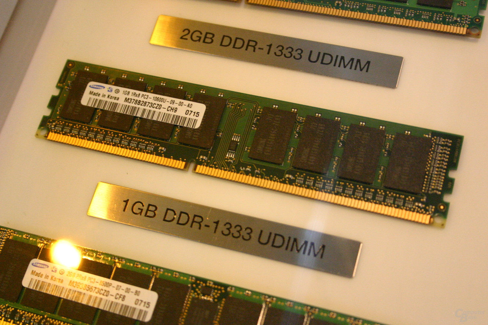 Unbiffered DDR3-1333 für Desktop