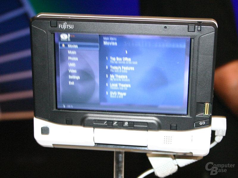 Fujitsu Siemens McCaslin-Lösung (IDF Spring 2007)