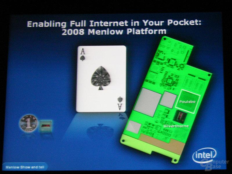 Menlow-Plattform mit Silverthorne und Poulsbo