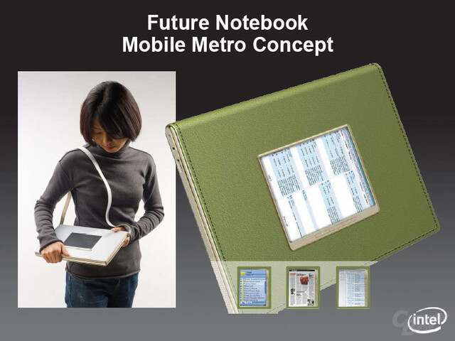 "Notebook-Konzept ""Metro"""