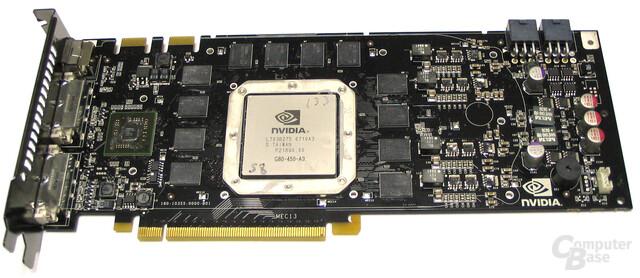 GeForce 8800 Ultra ohne Kuehler