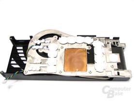 GeForce 8800 Ultra Kuehlerrueckseite