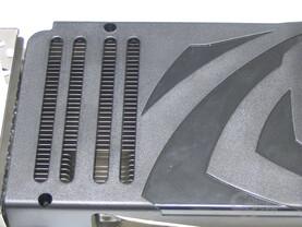 GeForce 8800 Ultra Luefterschlitze