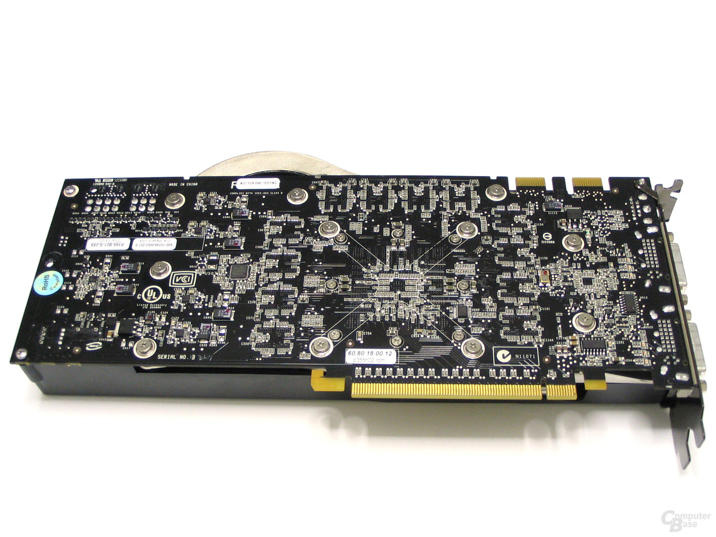 GeForce 8800 Ultra Rueckseite