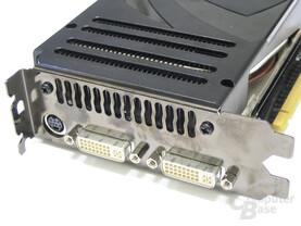 GeForce 8800 Ultra Slotblech