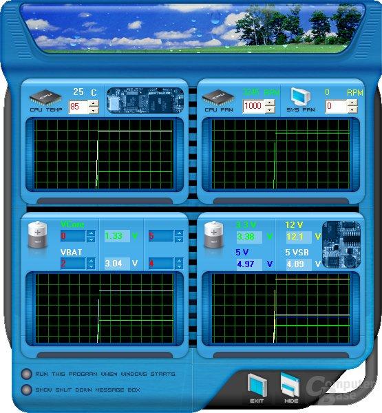 Biostar – Hardware Monitor