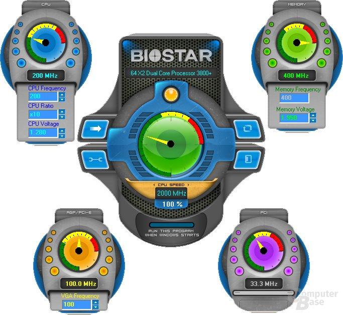 Biostar – Over Clock