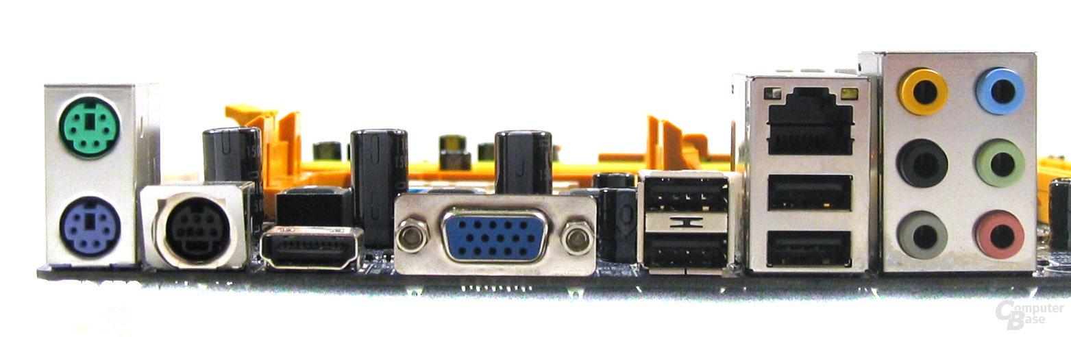 Biostar TF7050-M2 – ATX-Blende
