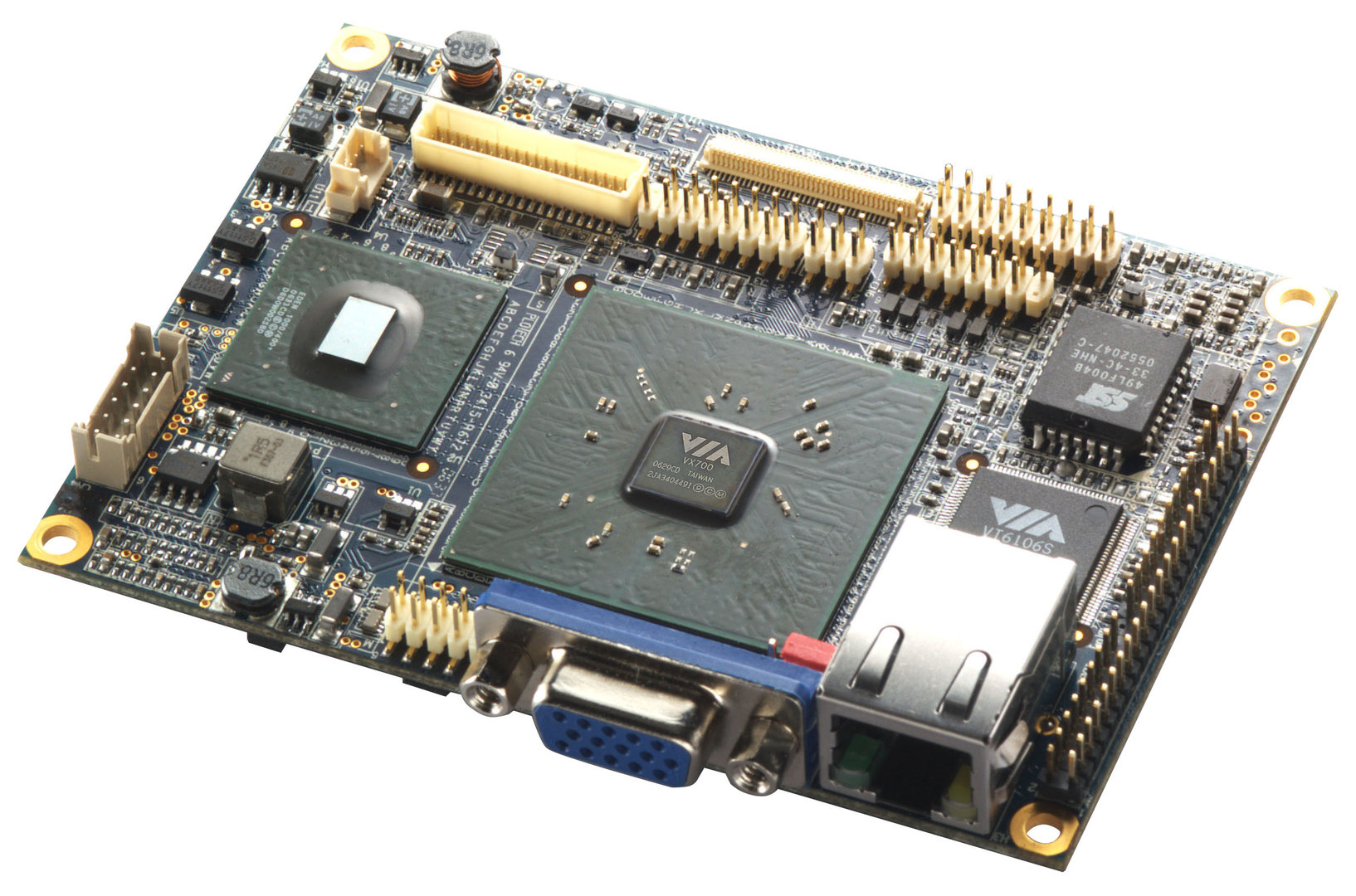 VIA VT6047 Pico-ITX Referenzdesign