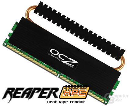 OCZ Reaper-Speicherserie mit Heatspreader