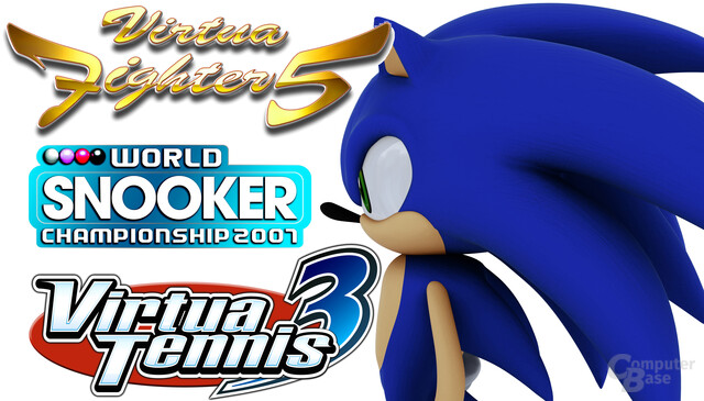 Virtua Fighter 5, Virtua Tennis 3, Sonic The Hedgehog und World Snooker Championship 2007 im Test