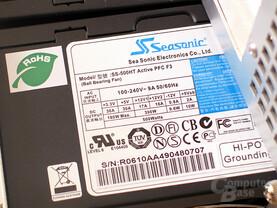 4Ein Kilowatt Leistung mit Doppelter Seasonic-Power: S12-500 SS-500HT