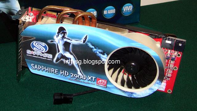 Sapphire Radeon HD 2900 XT mit Heatpipe