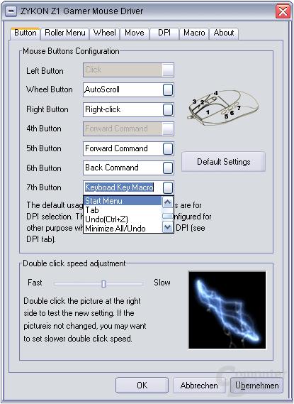 Z1 Treibersoftware