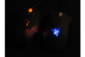 Zykon Z1 Gamer Mouse und Razer Death Adder