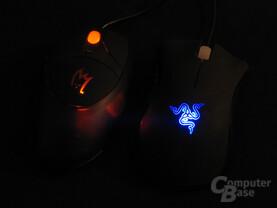 Zykon Z1 Gamer Mouse und Razer Death Adder