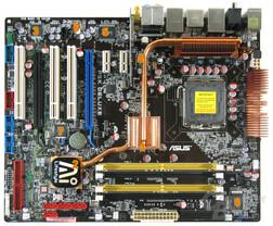 Asus P5K Deluxe Komponenten