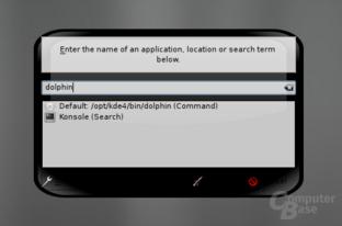 KDE4 – Krunner – Programme ausführen