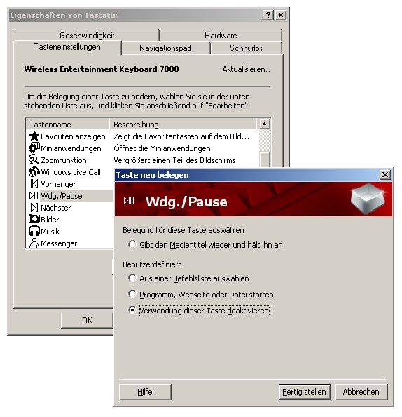 IntelliType Software 7