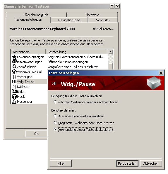 IntelliType Software 7