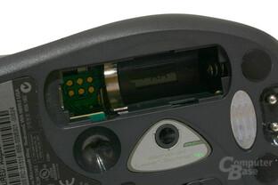 Batteriefach Detail