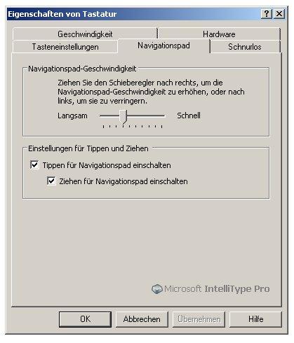IntelliType Software 2