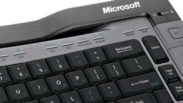 Microsoft Wireless Entertainment Desktop 7000 im Test: Krieg der Knöpfe
