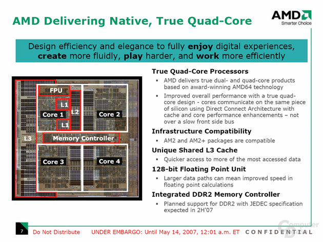Neue Desktop-Prozessoren mit neuen Features abwärtskompatibel mit Sockel AM2